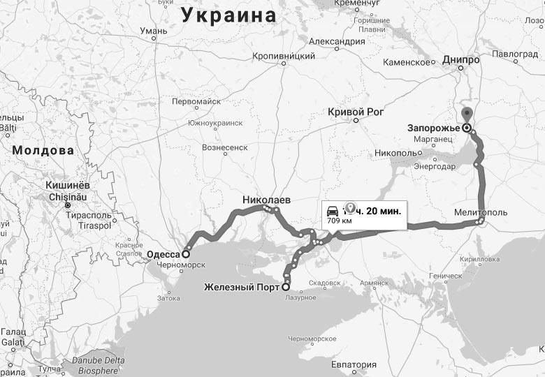 Zheleznyj Port Karta Pansionaty Zhile Oteli I Bazy Otdyha