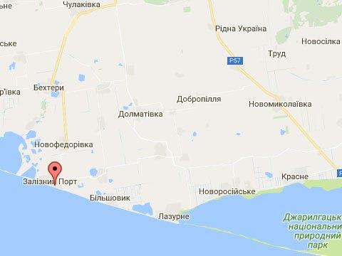 Украина голая пристань железный порт